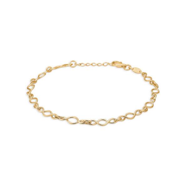 Mads Z Uendelig armbånd i 8 kt guld