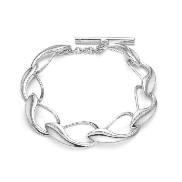 Mads Z Winelink sølv armbånd