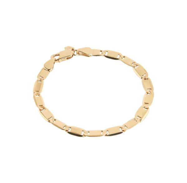 Maria Black Medina medium armbånd - Guld