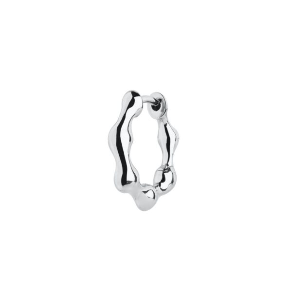 Maria Black Milla Huggie sølv - 100792AG