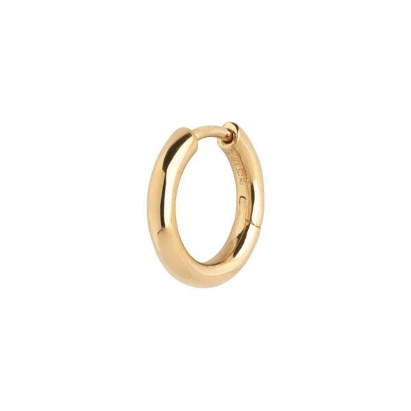 Maria Black Polo huggie ørering - Gold - Sælges enkeltvis
