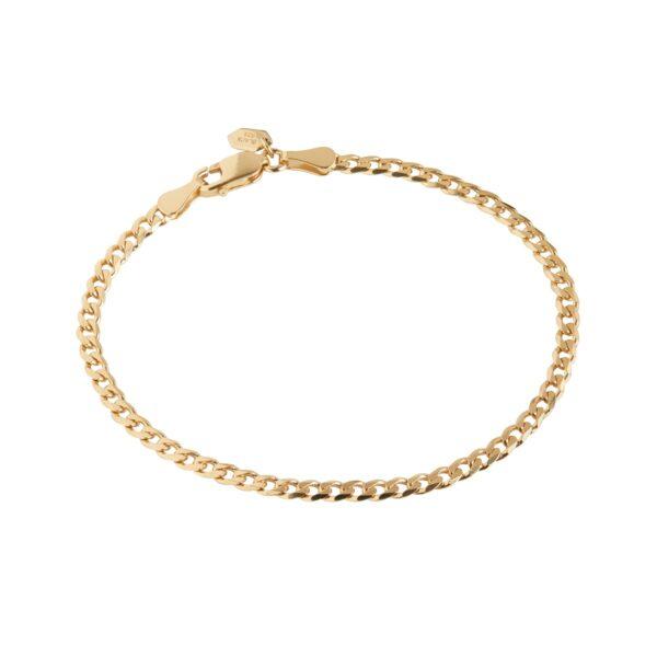 Maria Black Saffi armbånd, guld - medium