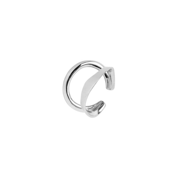 Maria Black sølv Ripples Ear Cuff - 200133AG