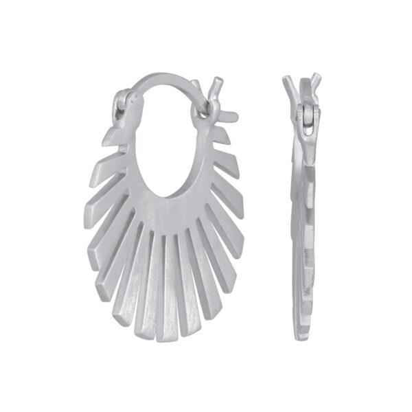 Nordahl Sun øreringe i sølv