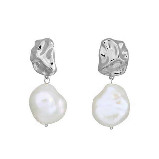 Nordahl smykker - Baroque i sølv med perle