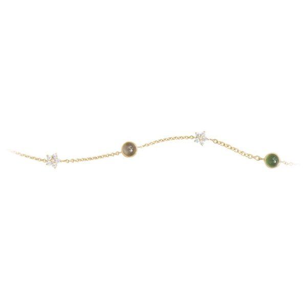 Ole Lynggaard Cirkus armbånd - C0073-401 12 bril. ialt 0,10 ct 18 cm