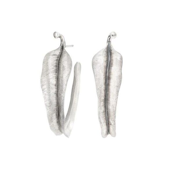 Ole Lynggaard Leaves Creol Stor i sølv