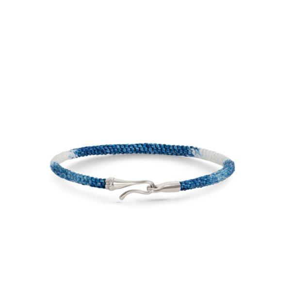 Ole Lynggaard Life armbånd blå - A3040-301 Blue Jeans 18 cm