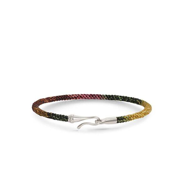 Ole Lynggaard Life armbånd med sølv, Plum - A3040-310 Plum 18 cm