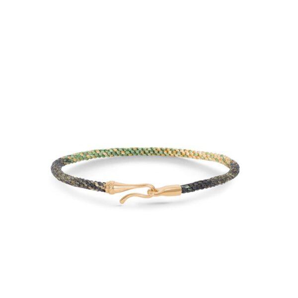 Ole Lynggaard Life armbånd - safari guld - A3040-405 Safari 17 cm