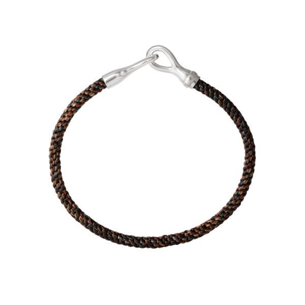 Ole Lynggaard Life herre armbånd - A3046-302 Marron/Sølv 20 cm