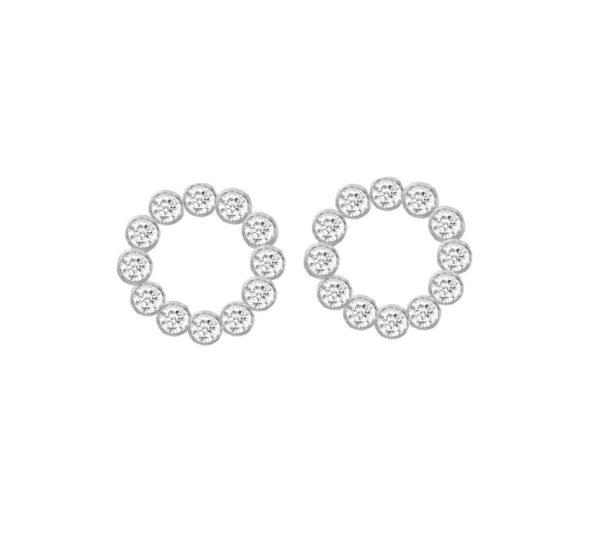 Penny Sterling Sølv Øreringe fra Frk Lisberg 5468-925