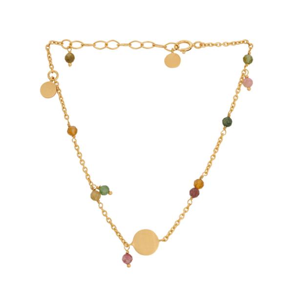 Pernille Corydon Afterglow pastel armbånd - Guld