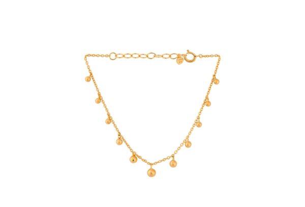 Pernille Corydon Comet armbånd - Guld