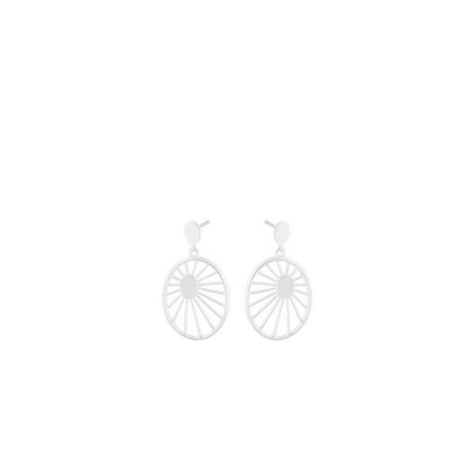 Pernille Corydon - Daydream hænge øreringe i sølv