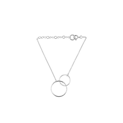 Pernille Corydon - Double Plain armbånd i sølv