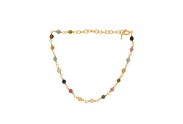 Pernille Corydon Shade armbånd, guld - 15-18 cm.