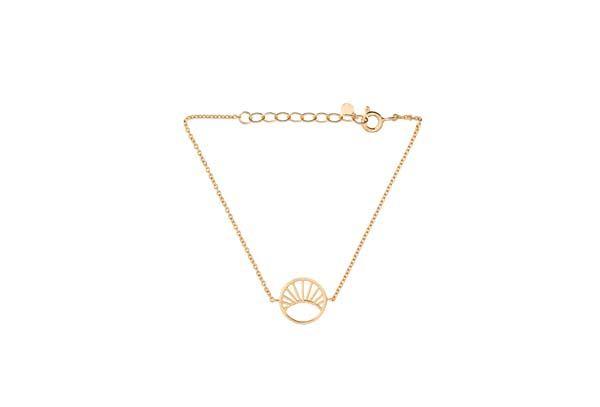 Pernille Corydon Small Daylight armbånd - guld