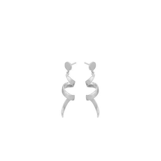 Pernille Corydon - Small loop Øreringe Sølv