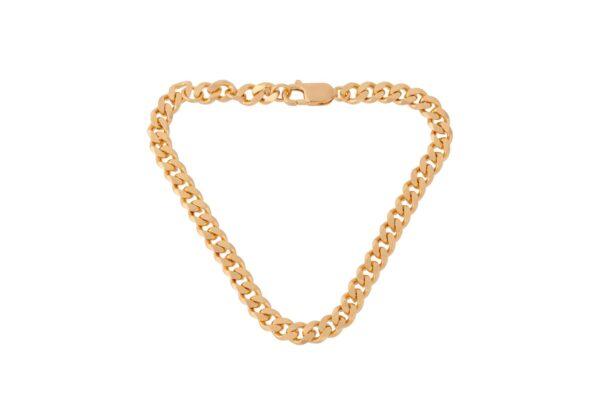 Pernille Corydon Solid armbånd 18 cm - guld
