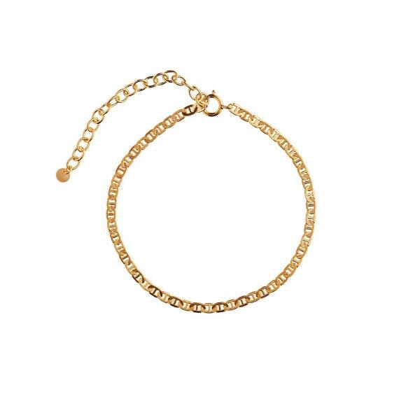 Petit Link Bracelet Armbånd   Forgyldt Fra Stine A