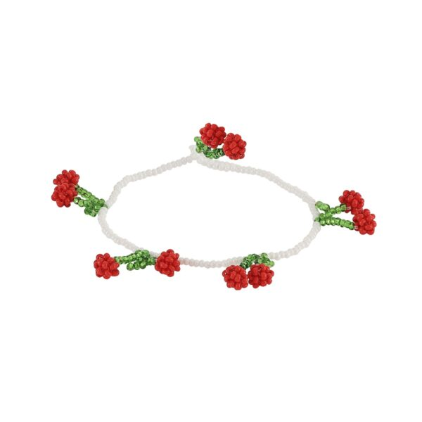 Pura Utz Cherries armbånd - rød