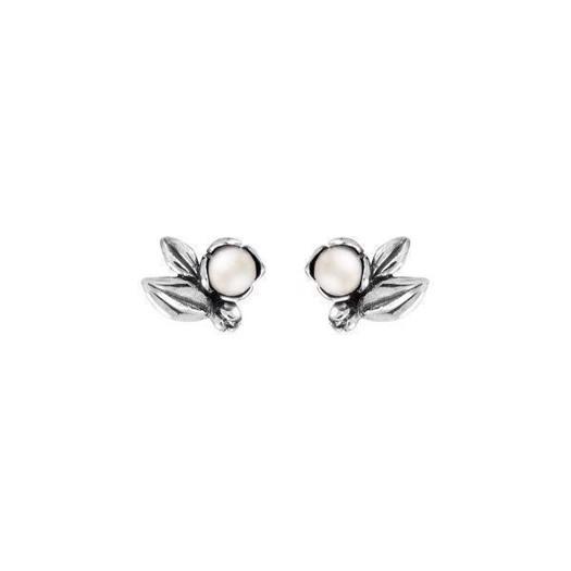 Rabinovich Inner Secret - Sølv Øreringe med Hvide Ferskvandsperler