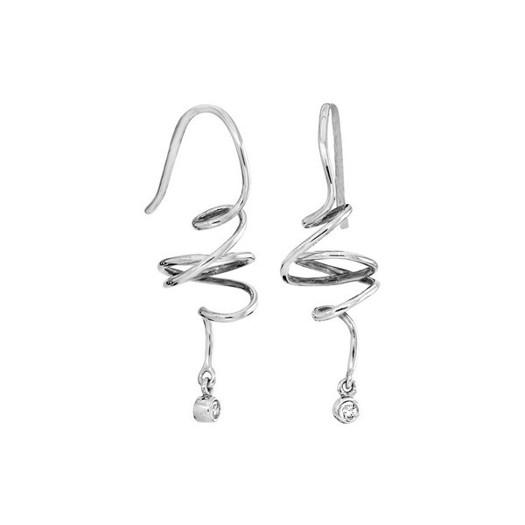 Rabinovich - Sparkling Dream øreringe i sølv*