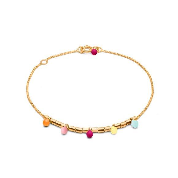 Rainbow Bracelet | Forgyldt Fra Enamel Copenhagen
