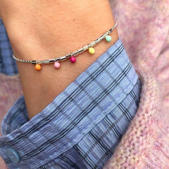 Rainbow Bracelet | Sølv Fra Enamel Copenhagen