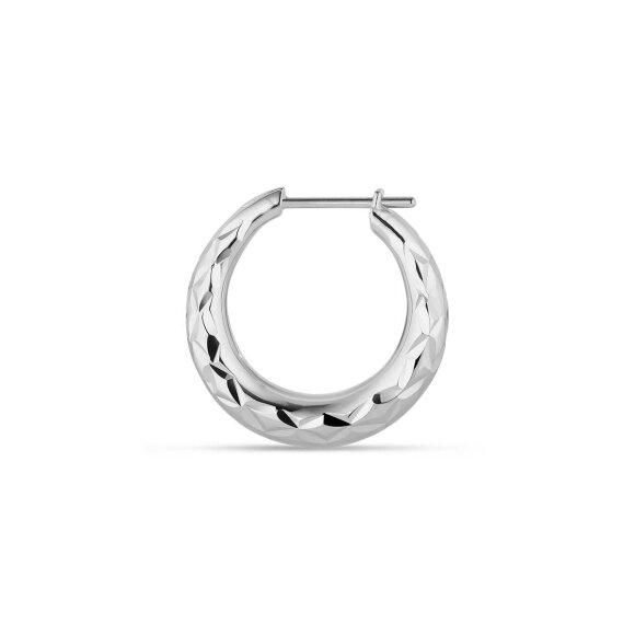 Reflection Rhombus Ørering 1pc   Sølv Fra Jane Kønig