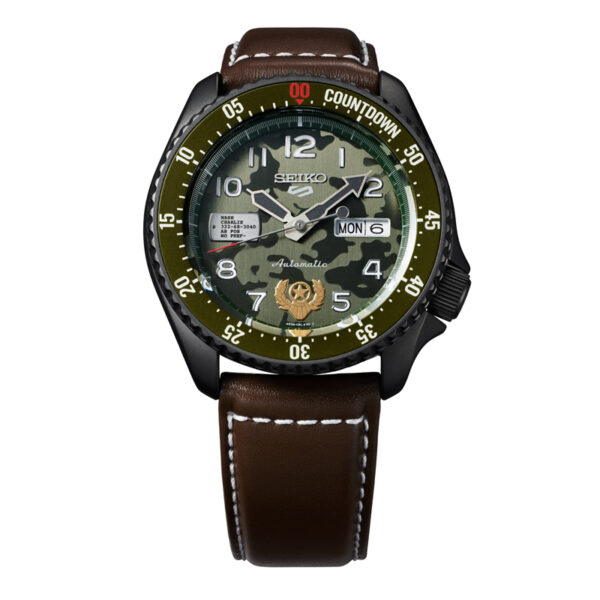 SEIKO 5 Street Fighter GUILES herreur, Limited Edition