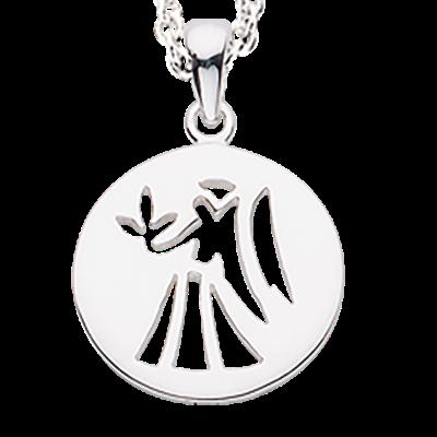 Scrouples Jomfru Stjernetegn Halskæde i Sterling Sølv