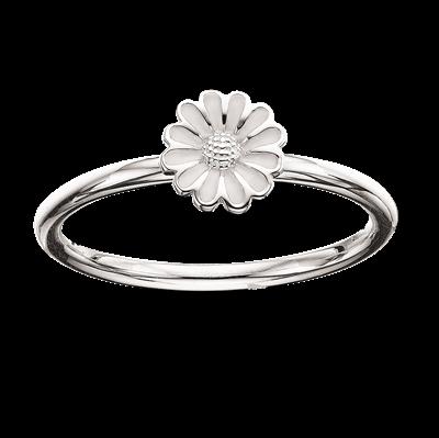 Scrouples Lille Marguerit Sterling Sølv Ring 721922