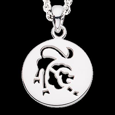 Scrouples Løve Stjernetegn Sterling Sølv Halskæde