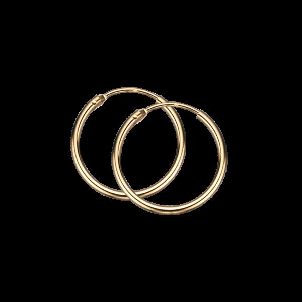 Scrouples Øreringe i 8 Karat Guld 10143