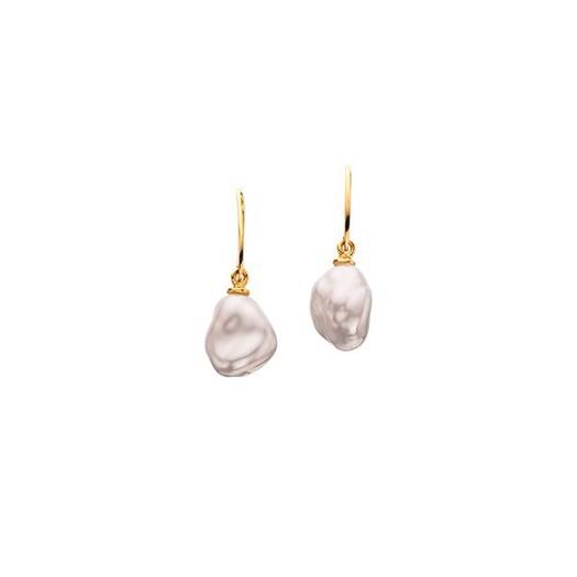 Scrouples - Perleøreringe med barokke perler