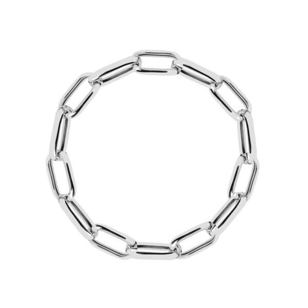 Sif Jakobs sølv armbånd, Capri 19,5 cm