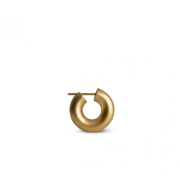 Small Chunky Hoop Ørering 1 Pc | Forgyldt Fra Jane Kønig