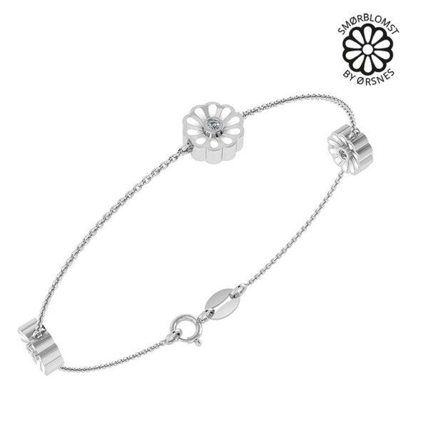 Smørblomst By Ørsnes Sterling Sølv Armbånd fra Smykkekæden DML0176S