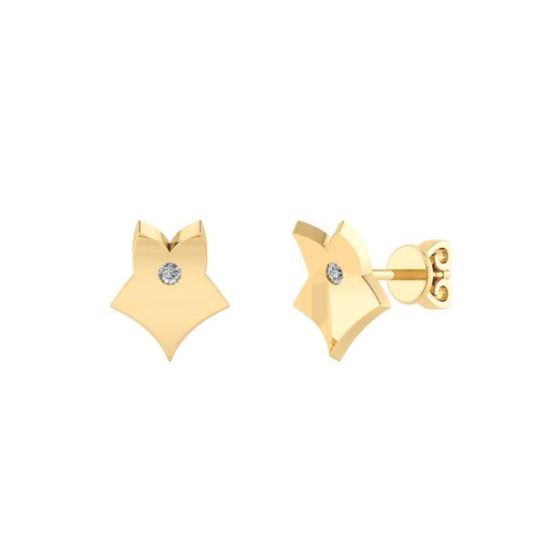 Smykkekæden 8 Karat Guld Øreringe