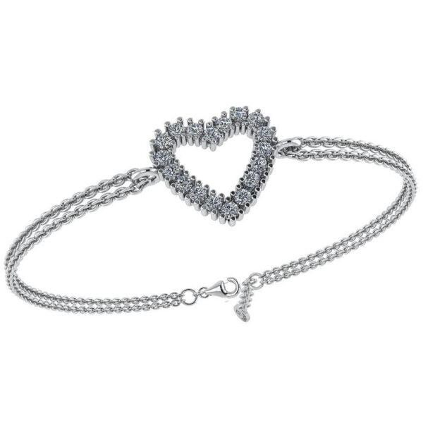 Smykkekæden Armbånd i Sterling Sølv DML0180S