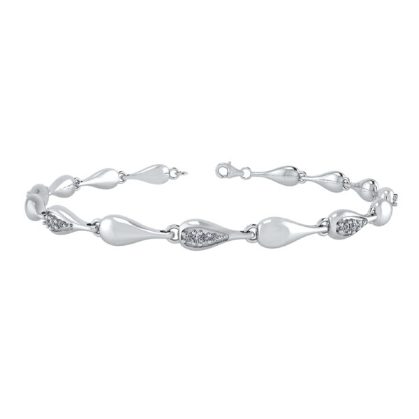 Smykkekæden Sterling Sølv Armbånd DML0166S