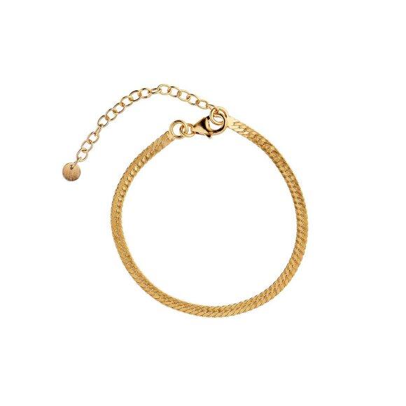 Snake Bracelet   Forgyldt Fra Stine A