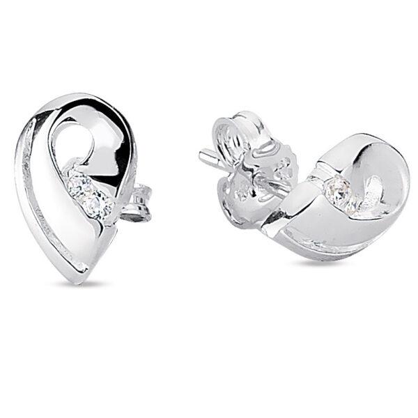 Sølv Øreringe fra Smykkekæden DME55