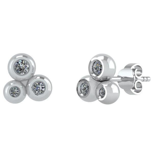 Sølv Ørestikker fra Smykkekæden DMB0300S