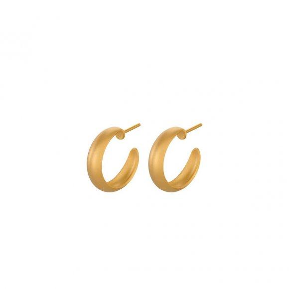Soho Hoops 18mm   Forgyldt Fra Pernille Corydon