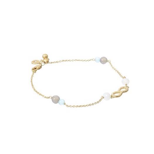 Spinning jewelry Beach armbånd, forgyldt sølv