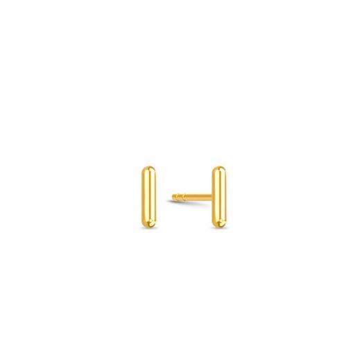 Spinning jewelry - Forgyldt sølv ørering - PASSION OF ART