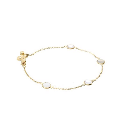 Spinning jewelry Sunset armbånd, forgyldt sølv